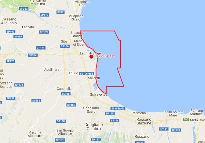 Sibaritide, stop al pozzo esplorativo LIUBA 1 OR