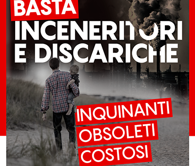 No agli inceneritori, si a riciclo e differenziata