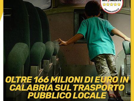 Oltre 166 milioni in Calabria sul Trasporto Pubblico Locale