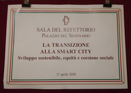 A Roma per un incontro sulla Smart City