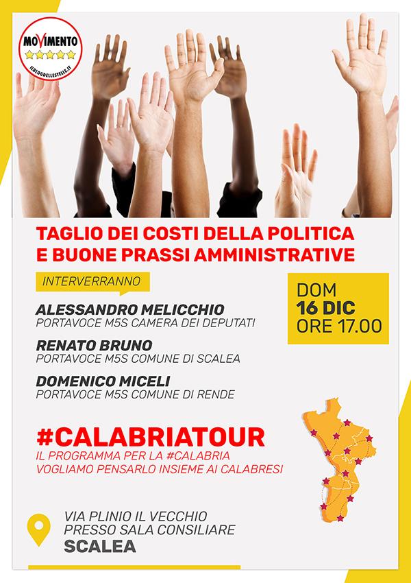 Domenica 16 il #CalabriaTour farà tappa a Scalea