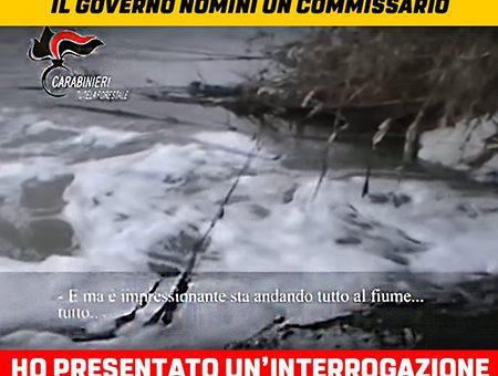 EMERGENZA DEPURAZIONE NELLA VALLE DEL CRATI, IL GOVERNO NOMINI UN COMMISSARIO