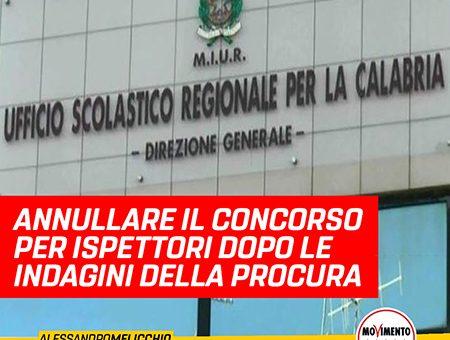 ANNULLARE IL CONCORSO PER ISPETTORI DOPO L'INDAGINE DELLA PROCURA DI VIBO